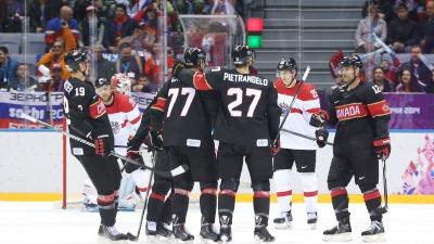 Канады разгромили австрийцев