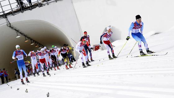 Лыжникам предстоит преодолеть 15км
