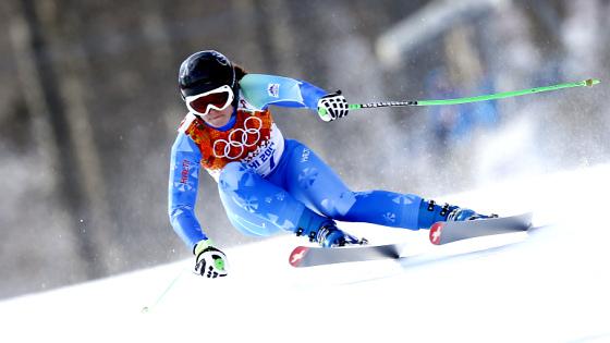 Олимпийская чемпионка Сочи-2014 в скоростном спуске Тина Мазе