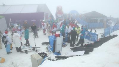 Туман стал причиной отмены соревнований