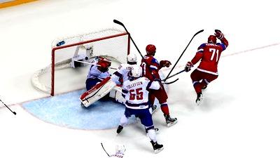 В четвертьфинале сборная России сыграет с Финляндией