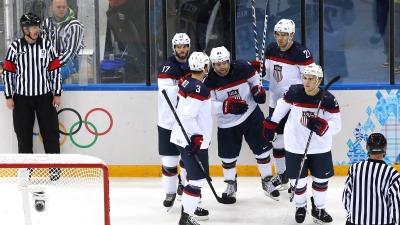 В полуфинале США сыграет с Канадой