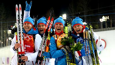 биатлонная сборная России
