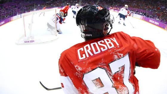 Сидни Кросби, лидер сборной Канады