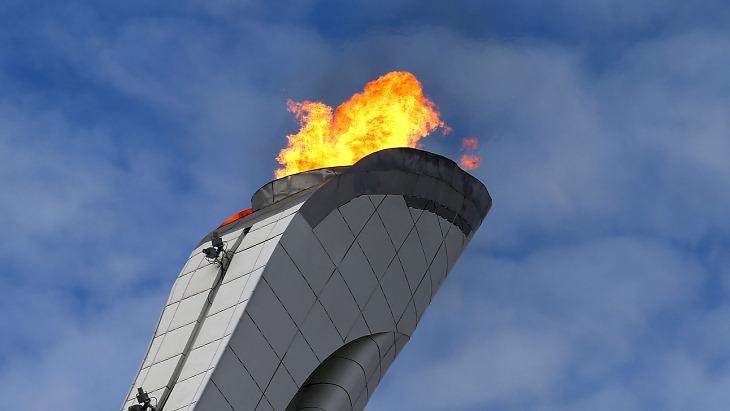 Олимпийский факел Сочи-2014