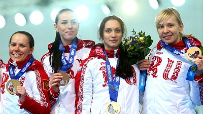 женская конькобежская сборная России