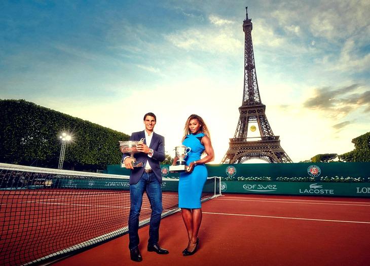 Действующие чемпионы «Ролан Гаррос» — Рафаэль Надаль и Серена Уильямс