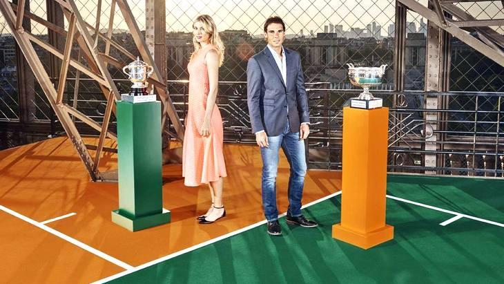 Мария Шарапова и Рафаэль Надаль — победители «Ролан Гаррос»-2014