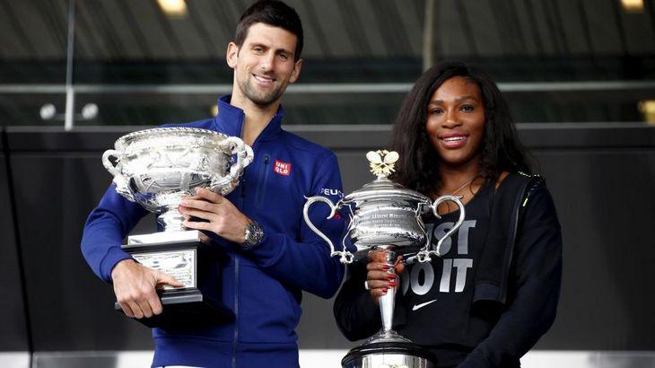 Новак Джокович и Серена Уильямс — действующие победители Australian Open