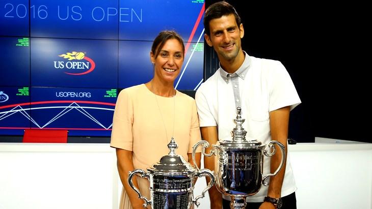 Победители прошлогоднего розыгрыша US Open — Флавия Пеннетта и Новак Джокович