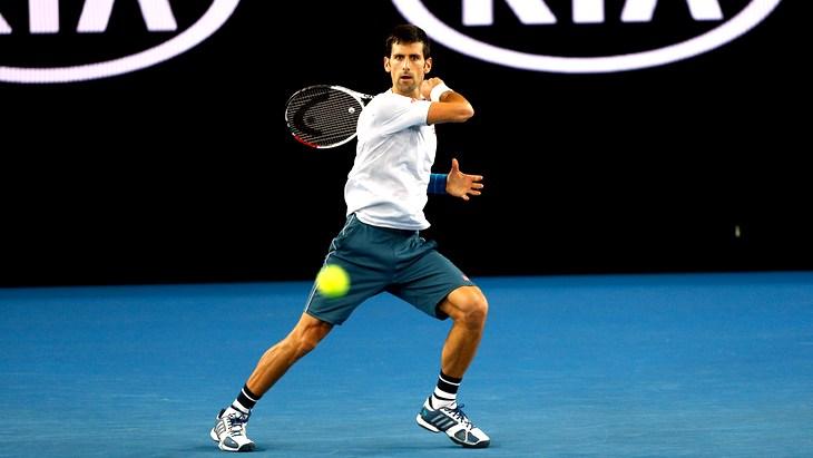 Действующий победитель Australian Open Новак Джокович