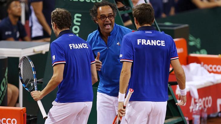 Французские теннисисты