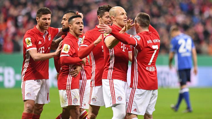 Прогнозы и ставки на матч «Бавария» — «Боруссия» Дортмунд 26 апреля 2017 года: прогноз и ставка