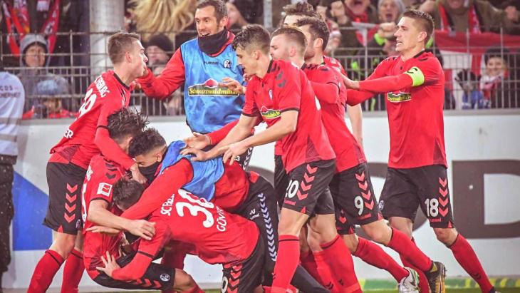 Футбольная команда фрайбург