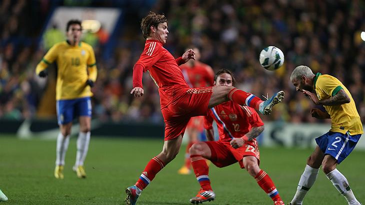 ставки на футбол россия бразилия