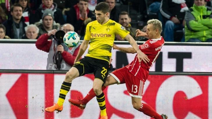 Футбол дортмунд бавария