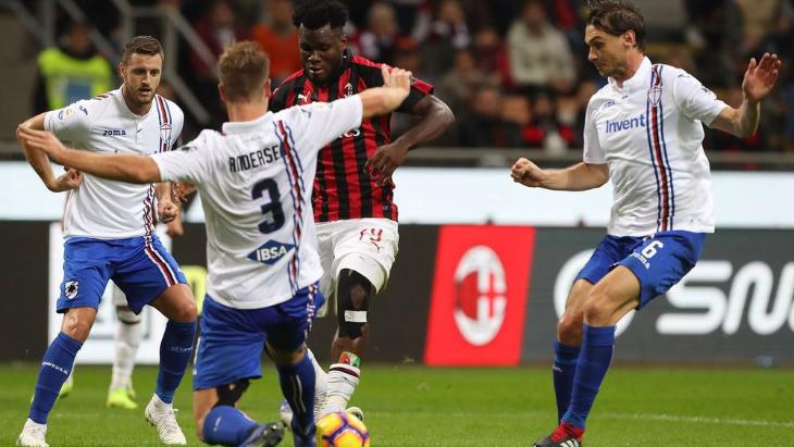 Прогноз на «Сампдория» — «Милан»