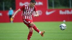 «Олимпиакос» выиграл первый матч со счетом 1:0