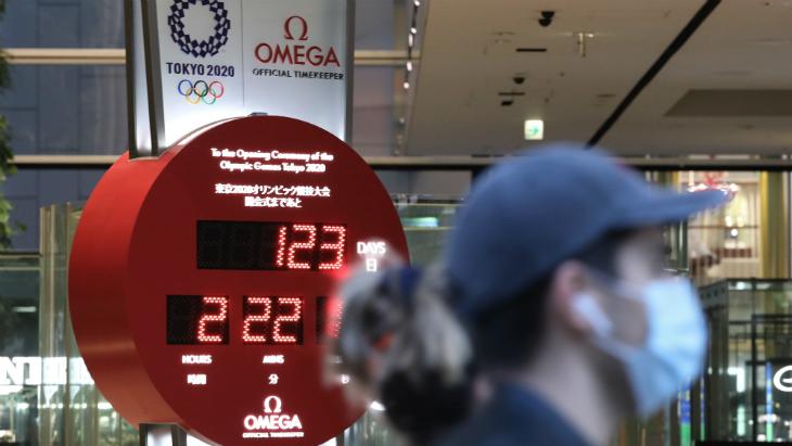 Отсчет дней до Олимпиады в Токио